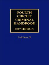 Fourth Circuit Criminal Handbook cover