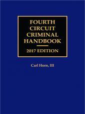 Fourth Circuit Criminal Handbook cover