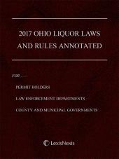 Ohio Liquor Laws and Rules Annotated cover