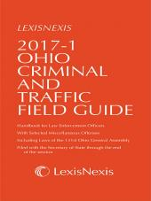 Ohio Criminal and Traffic Field Guide cover