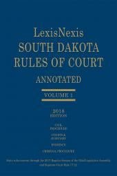South Dakota Court Rules Annotated cover