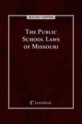 The Public School Laws of Missouri cover