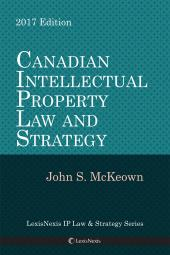 Canadian IP Law and Strategy cover