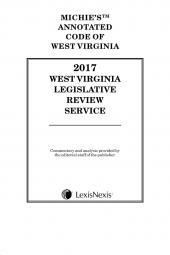 West Virginia Legislative Review Service cover