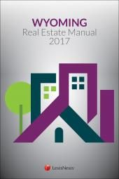 Wyoming Real Estate Manual cover