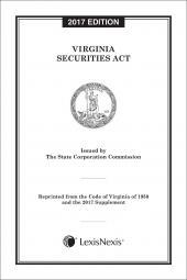 Virginia Securities Act cover