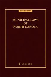 Municipal Laws of North Dakota cover