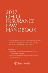 Ohio Insurance Law Handbook cover
