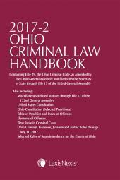Ohio Criminal Law Handbook cover