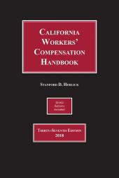 Herlick, California Workers' Compensation Handbook cover