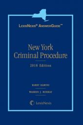 LexisNexis AnswerGuide New York Criminal Procedure cover
