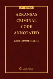 Arkansas Criminal Code Annotated cover
