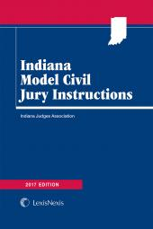 Indiana Model Civil Jury Instructions SAMPLE cover