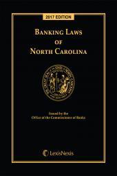 Banking Laws of North Carolina cover