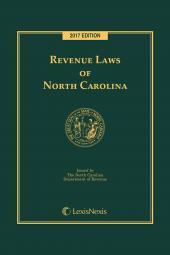 Revenue Laws of North Carolina cover