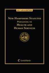 New Hampshire Statutes Pertaining to Health and Human Services cover
