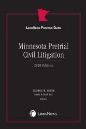 LexisNexis Practice Guide: Minnesota Pretrial Civil Litigation cover