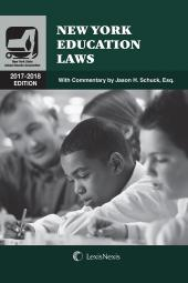 New York Education Laws cover