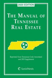 The Manual of Tennessee Real Estate cover