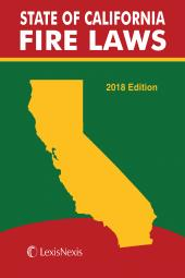 State of California Fire Laws cover