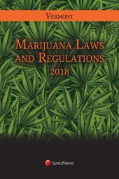 Vermont Marijuana Law and Regulations cover