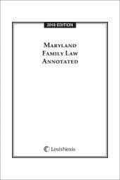 Maryland Family Law Annotated cover