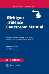 Weissenberger's Michigan Evidence Courtroom Manual cover