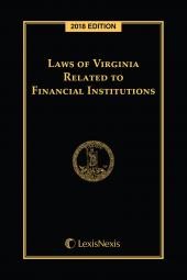 Laws of Virginia Related to Financial Institutions cover