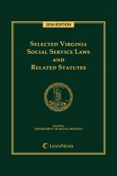 Selected Virginia Social Services Laws and Related Statutes cover