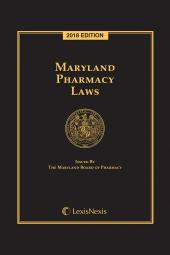 Maryland Pharmacy Laws cover