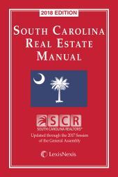 South Carolina Real Estate Manual cover