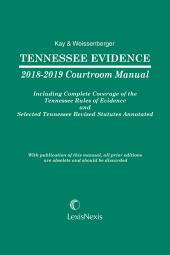 Tennessee Evidence Courtroom Manual cover