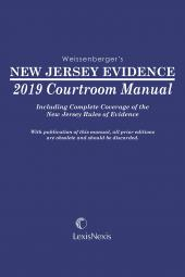 New Jersey Evidence Courtroom Manual cover