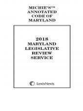 Maryland Legislative Review Service cover