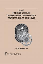 Florida Fish and Wildlife Conservation Commission's Statutes, Rules and Laws, Alert #1 cover