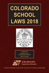 Colorado School Laws cover