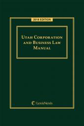 Utah Corporation and Business Law Manual cover