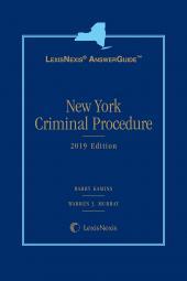 LexisNexis AnswerGuide: New York Criminal Procedure cover