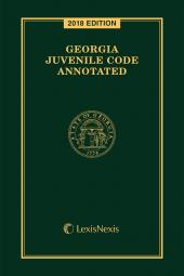 Georgia Juvenile Code Annotated cover