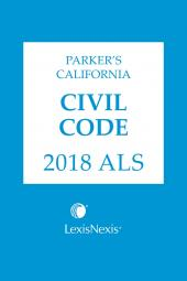 Parker's California Civil Code ALS cover
