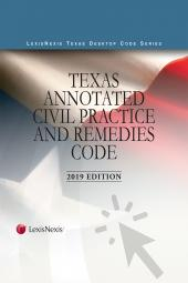 Texas Annotated Civil Practice and Remedies Code cover