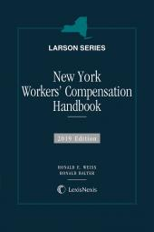 New York Workers' Compensation Handbook cover