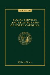Social Services and Related Laws of North Carolina cover