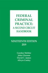 Federal Criminal Practice: A Second Circuit Handbook cover