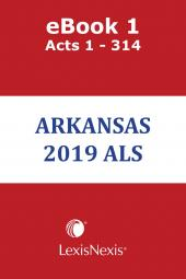 Arkansas Advance Legislative Service cover