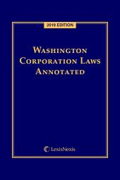 Washington Corporation Laws Annotated cover
