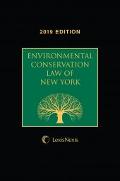 Environmental Conservation Law of New York cover