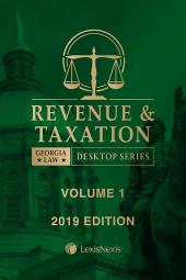 Georgia Revenue and Taxation Law cover