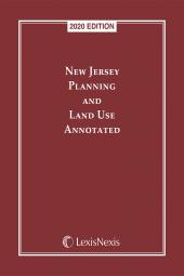 New Jersey Planning and Land Use Annotated cover