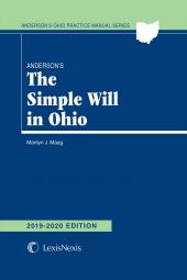 Anderson's The Simple Will in Ohio cover